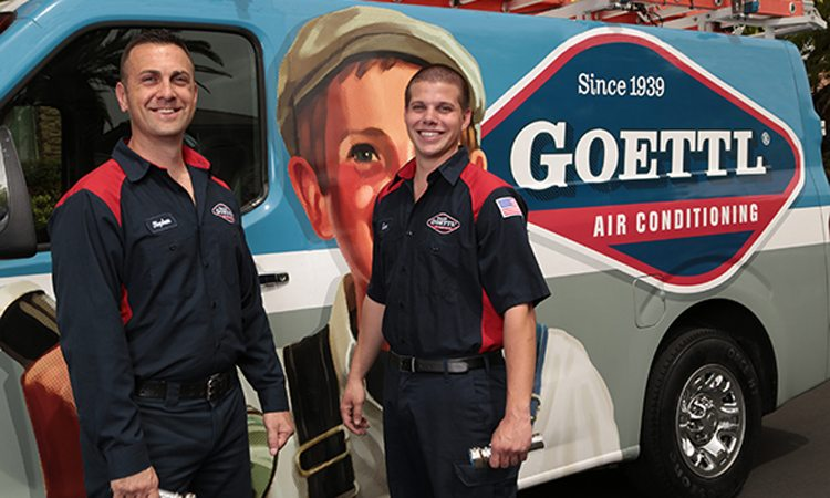 goettl technicians by van